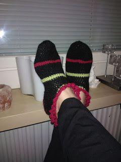 MarikaSusa : Kohti kantapäätä crochet