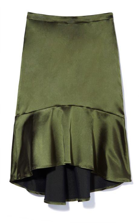 Satin Flare Skirt by Patrícia Viera for Preorder on Moda OperandiFlare Skirts, Style Skirts, Satin Flare, Flirty Skirty, Patrícia Viera