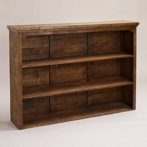 Could use as a book shelf for living room.  Clayton Rustic Hutch