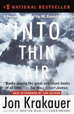 Into Thin Air In May 1996, writer Jon Krakauer joined a party of experienced and amateur climbers, led by Everest veterans Scott Fischer and New Zealander Rob Hall, who attempted to reach the summit of the world's highest mountain, with disastrous results.
