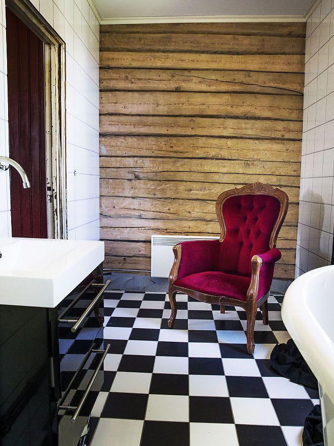 Verneverdige verdier. Badet til kunster Unni Askeland er moderne med gamle detaljer. VG+. Foto: FRODE HANSEN