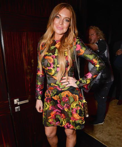 WTF is going on in Lindsay Lohan's latest Instagram post?