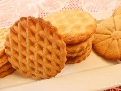 Jijona nougat cookies - Galetes de torró de Xixona - Cuina de la Mare