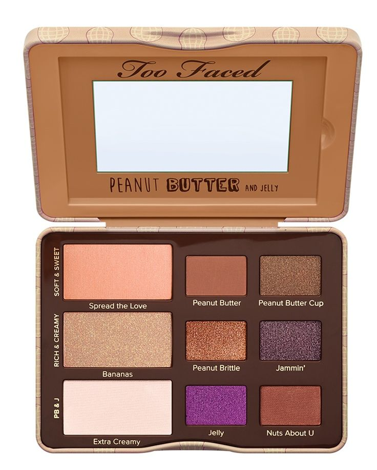 Too Faced Peanut Butter and Jelly Eye Shadow Collection Arriving Feb. 28th   http://www.musingsofamuse.com/2016/01/too-faced-peanut-butter-and-jelly-eye-shadow-collection-arriving-feb-28th.html