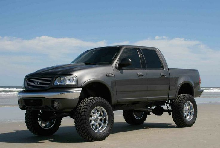 "Ford F-150 Lifted | 2001 F150 5.4 ext. cab 4X4, 5"" RCD susp. lift, PA body lift, 35"" Toyo ..."