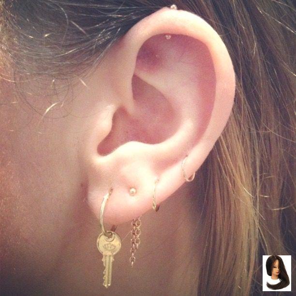 Intim piecing Labia piercing