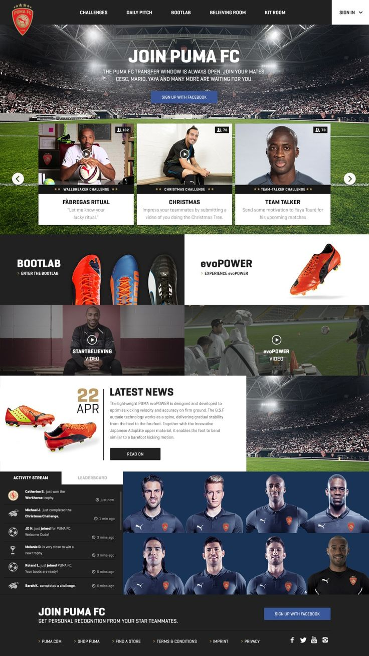 PUMA FC Virtual Football Club