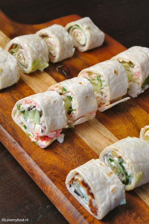 Snelle snack: 3x wraps - LoveMyFood