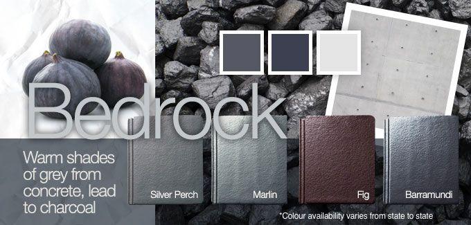 Monier Colour Palette – Bedrock