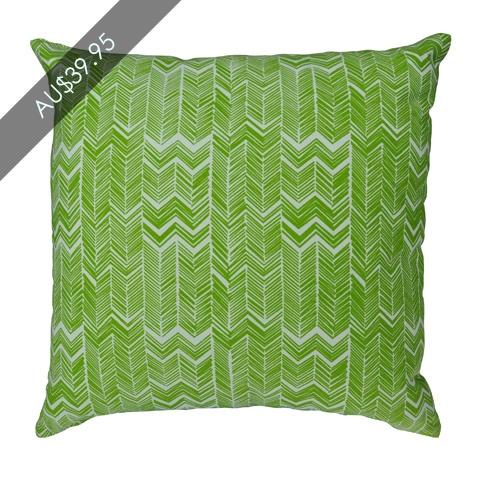 Gazebo Lime Cushion  www.madraslink.com.au