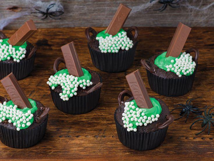 Petits gâteaux KIT KAT de la méchante sorcière