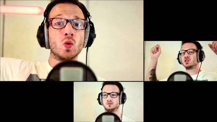 """Gavin DeGraw - """"Not Over You"""" (Chris August A Cappella Cover)...this is the best of both worlds...a Gavin DeGraw song covered by Chris August!"""
