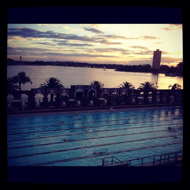 Best address on earth... North Sydney pool