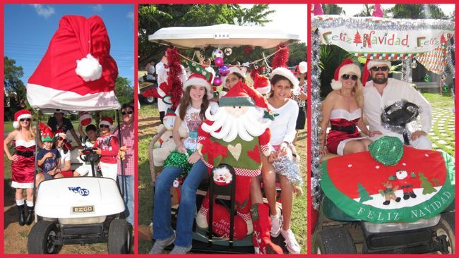 golf cart parade casa de campo