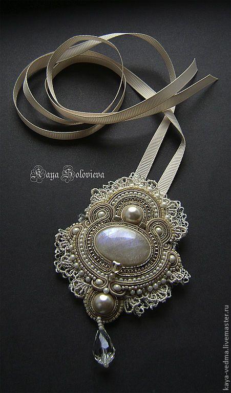 Handmade brooches.  Fair Masters - handmade brooch-pendant Bridget.  Handmade.