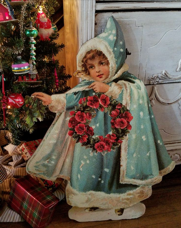 Beautiful Victorian Christmas decoration