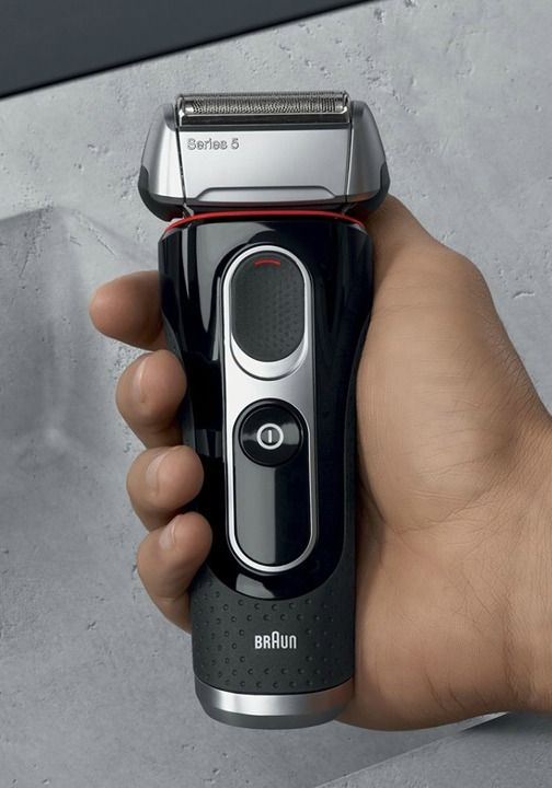 Braun beard trimmer and shaver