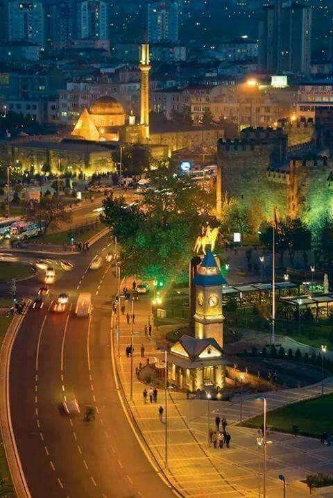 ✿ ❤ Kayseri'de gece, Turkey...