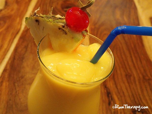 Mmmm...Mango Colada! Smooth, creamy and refreshing - gonna be great ...