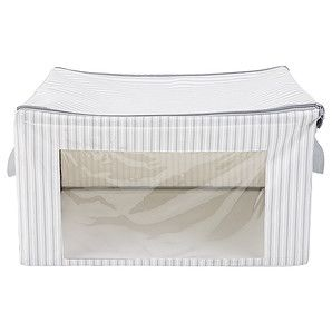 $20 - Large Stripe Storage Box