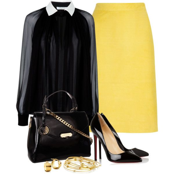 """""""Yellow"""" by angela-windsor on Polyvore"""