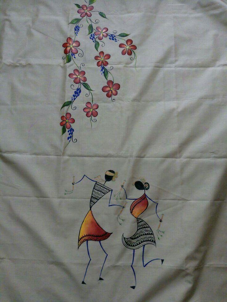 Pin by sumana upadhyaya on fabric painting pinterest