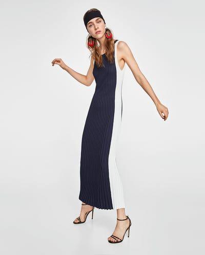 Vestido largo verano 2019 zara