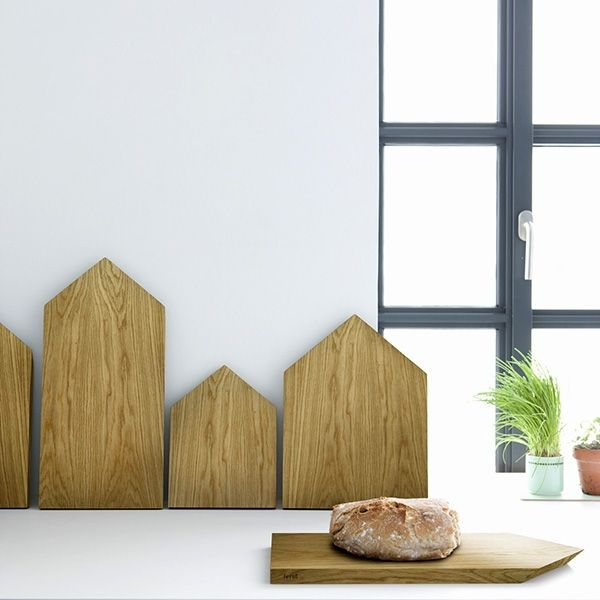 Schneidebrett Untersetzer Holz N° 1 von Ferm Living                                                                                                                                                      Mehr