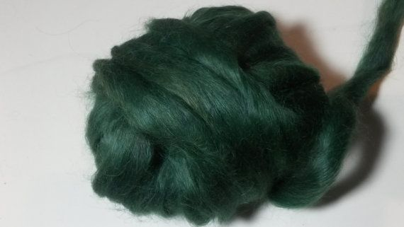 Suri Alpaca Roving 100% Suri Alpaca Luxury by BreezyRidgeAlpacas