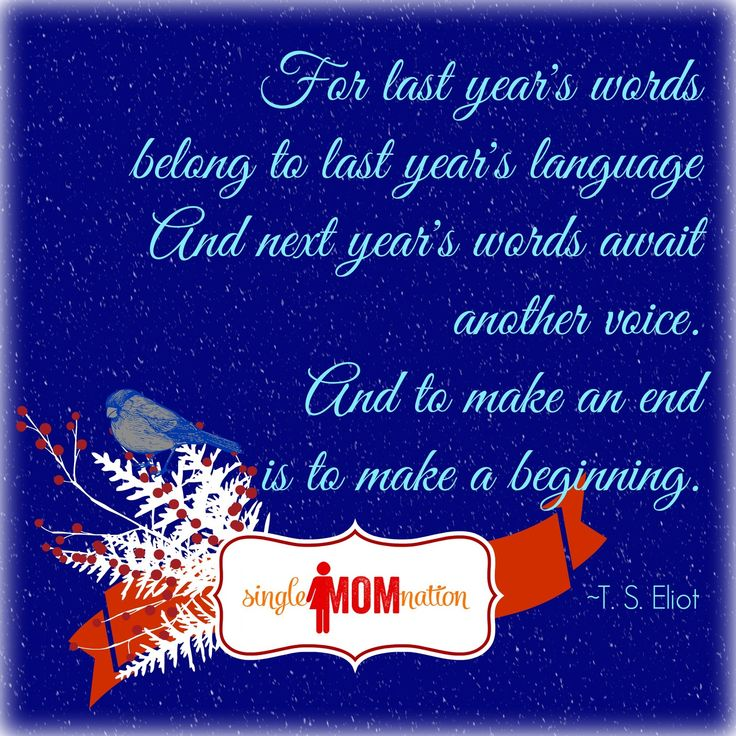 Single mama mantra for a New Year