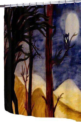 Cortinas De Baño Halloween:Halloween Shower Curtain