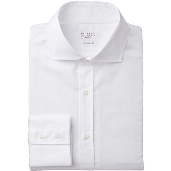 Cotton-Linen Shirt (7775365 BYR) ❤ liked on Polyvore featuring men's fashion, men's clothing, men's shirts and men's dress shirts