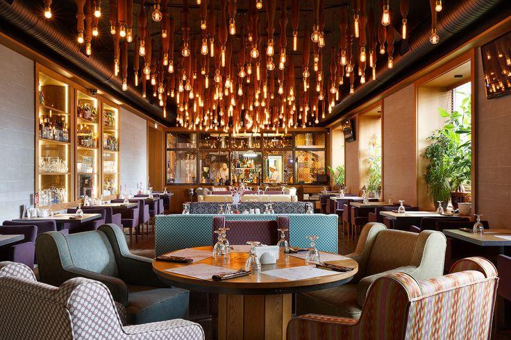 Ресторан КАРЕ - Лучший интерьер ресторана, кафе или бара | PINWIN - конкурсы для архитекторов, дизайнеров, декораторов