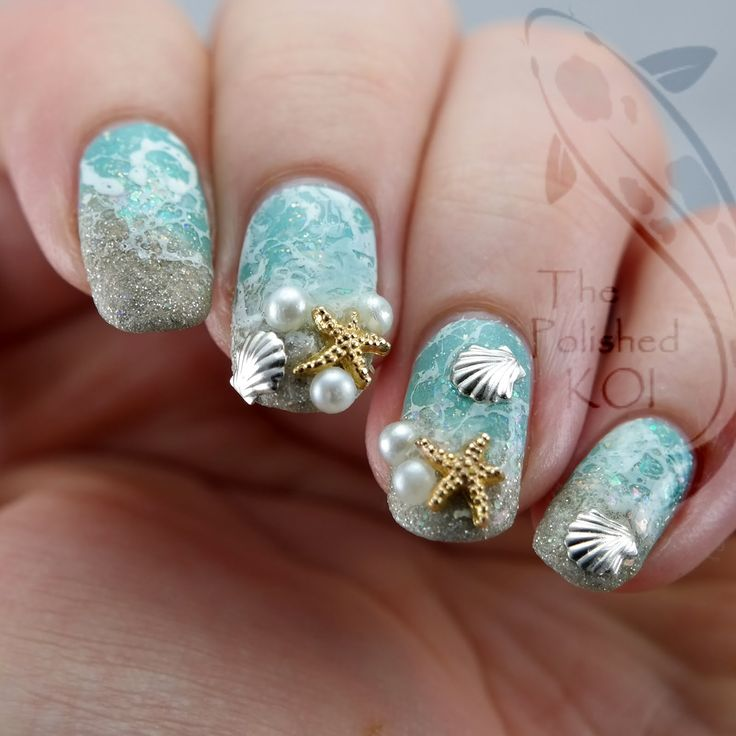 The 853 best Nail Art - Flowers and Nature images on Pinterest ...
