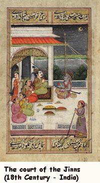 Court of the Djinns..18 cent Mughal