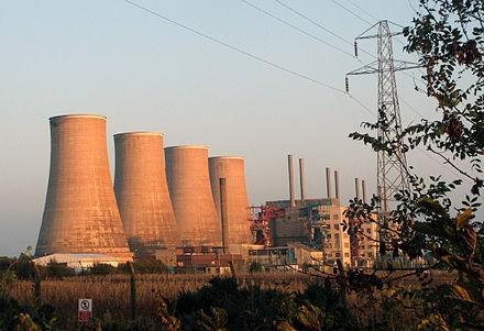 Chapelcross nuclear power station.