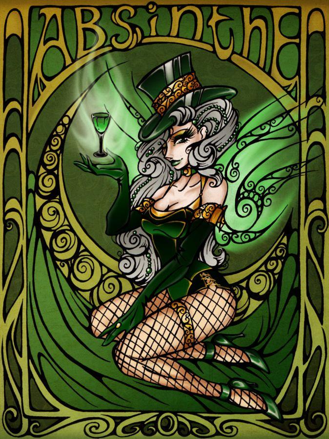 Poster01: Absinthe by HechiceraRip.deviantart.com on @deviantART