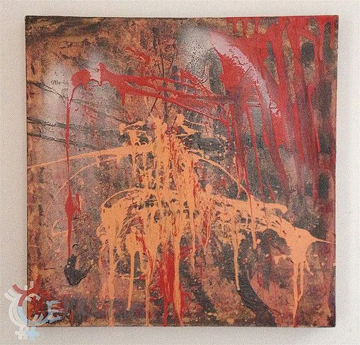 the REAPER - PsyArt by Petr Jáchym 50x50cm , acrylic on canvas www.petrjachym.cz (for sale)