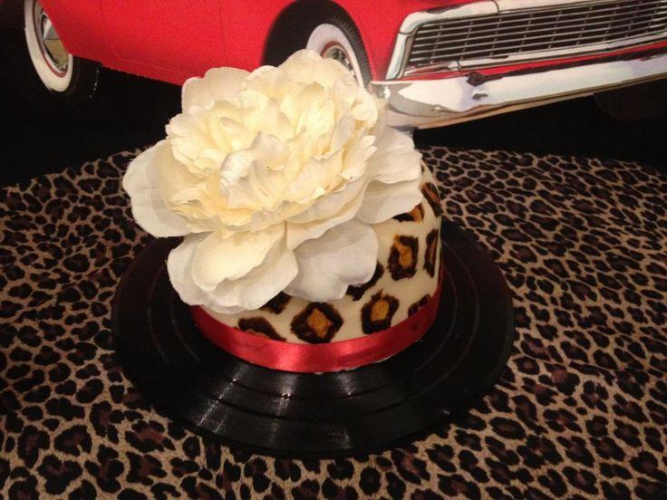 Best My Th Bday Pin Uprockabilly Party Ideas Images On - Rockabilly birthday cake