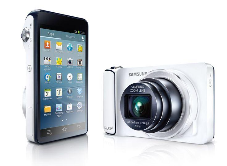 android-powered samsung galaxy digital camera
