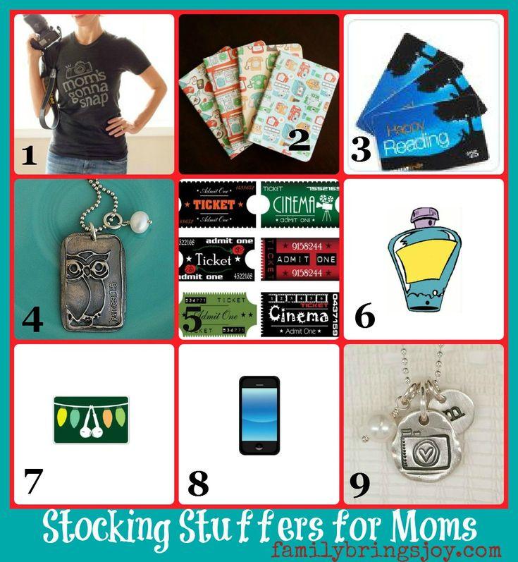 Stocking Stuffers for Moms familybringsjoy.com