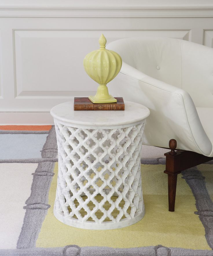 White Marble Arabesque Side Table: 46 Best Fabrics Images On Pinterest