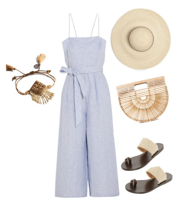 """The August Your Bijoux Box-Deepa Gurnani Bracelet"" by yourbijouxbox on Polyvore featuring Cult Gaia, Ancient Greek Sandals, J.Crew and Deepa Gurnani"
