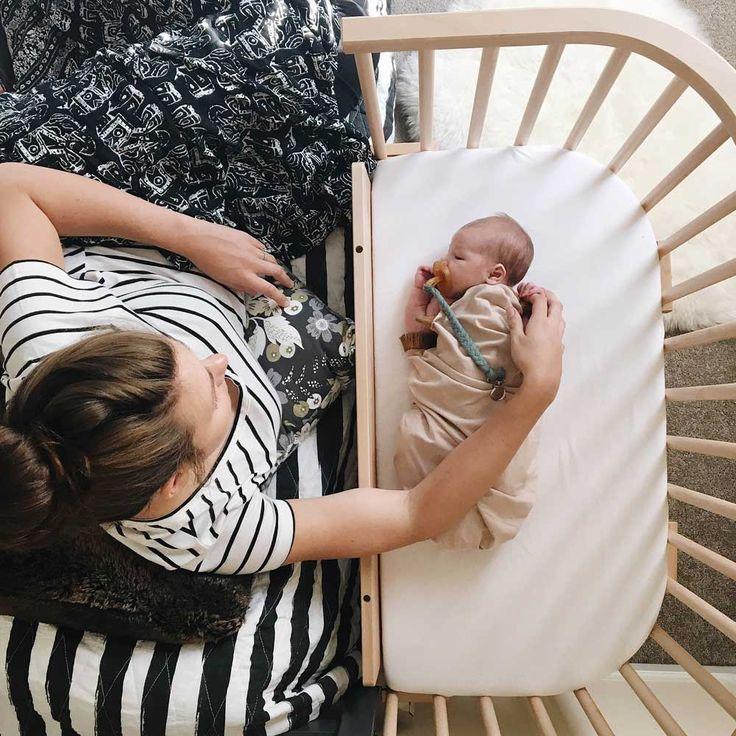 babybay® Bedside Sleeper is a bedside co sleeper bassinet that will save your sleep.
