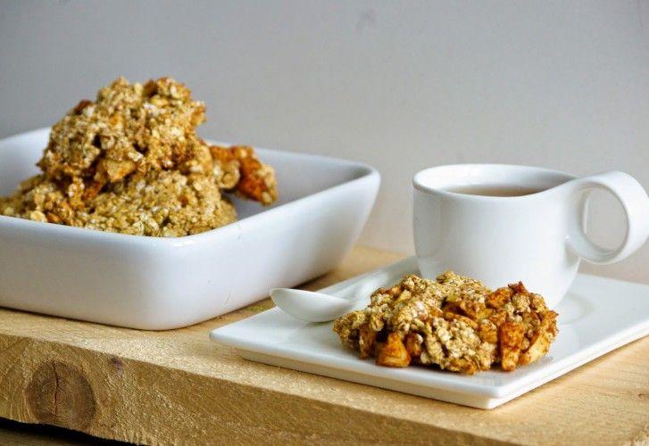 Healthy snack: brosse appel-kaneel havermoutkoekjes met speltmeel
