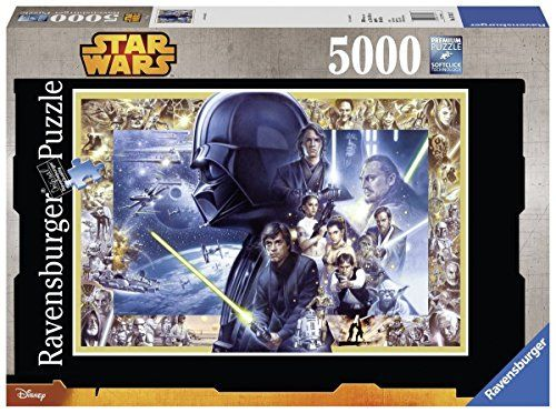 Star Wars The Legacy Puzzle 5000 Professional Premium Puzzle Ages