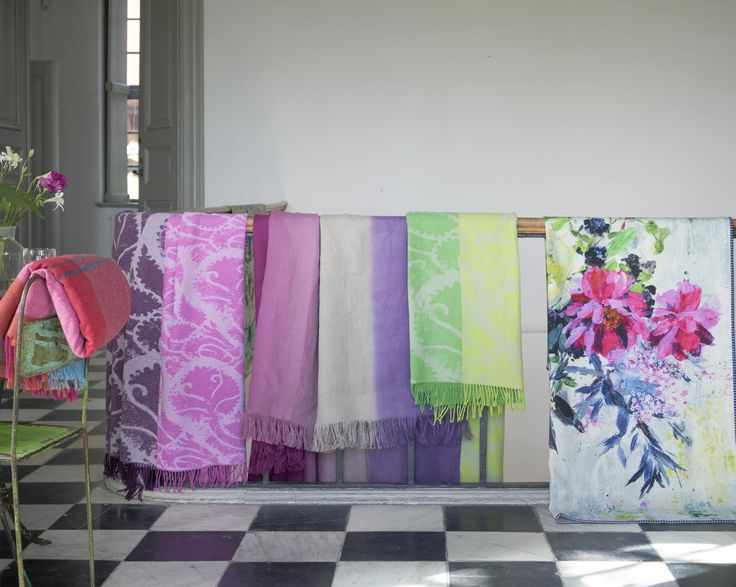Designers Guild Autumn throws