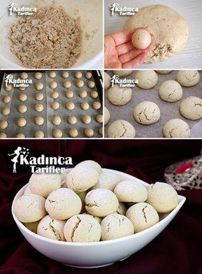 YUMURTASIZ CEVİZLİ BAYATLAMAYAN KURABİYE TARİFİ http://kadincatarifler.com/yumurtasiz-cevizli-bayatlamayan-kurabiye-tarifi