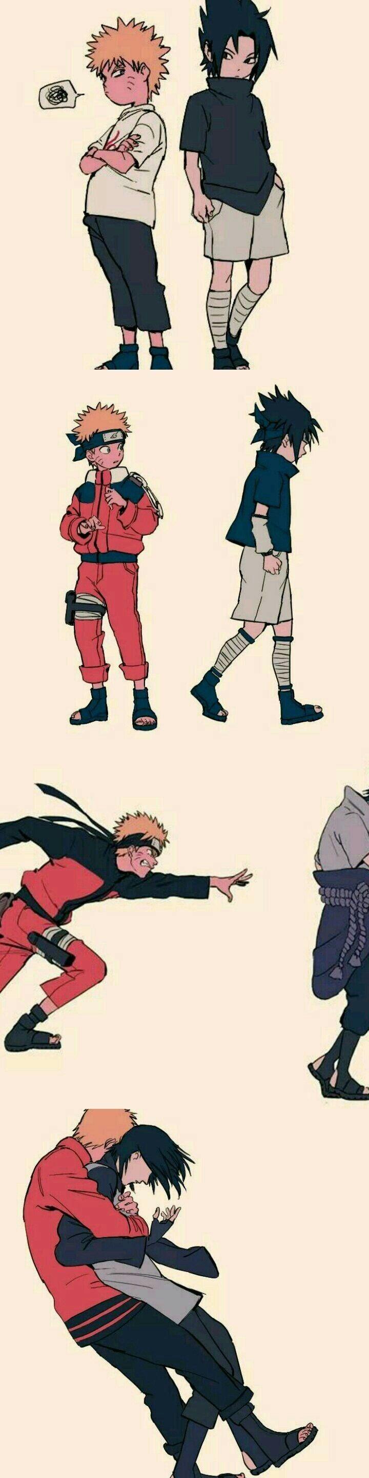 """""""Porque você é meu amigo, Sasuke."""""""