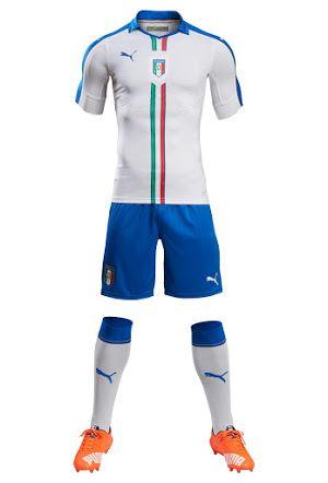 Italy Euro 2016 Away Kit Released - Footy Headlines